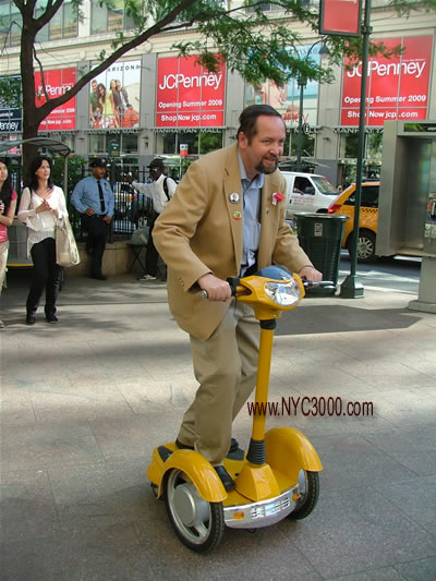 paul nyc scooter